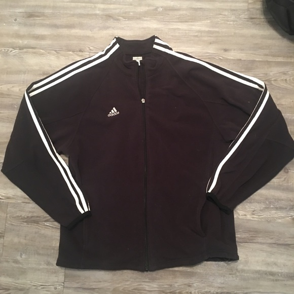 adidas Jackets   Coats   Mens Fleece Jacket   Poshmark 991bf6b913